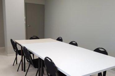 Salle de réunion chez Cap Formation à Carpentras.