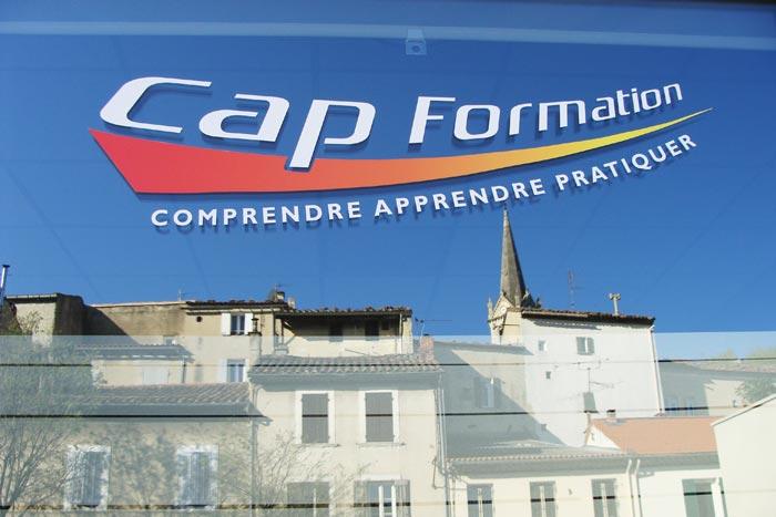 Tout proche du centre ville, Cap Formation vous accueille dans des locaux adaptés et équipés pour votre formation !