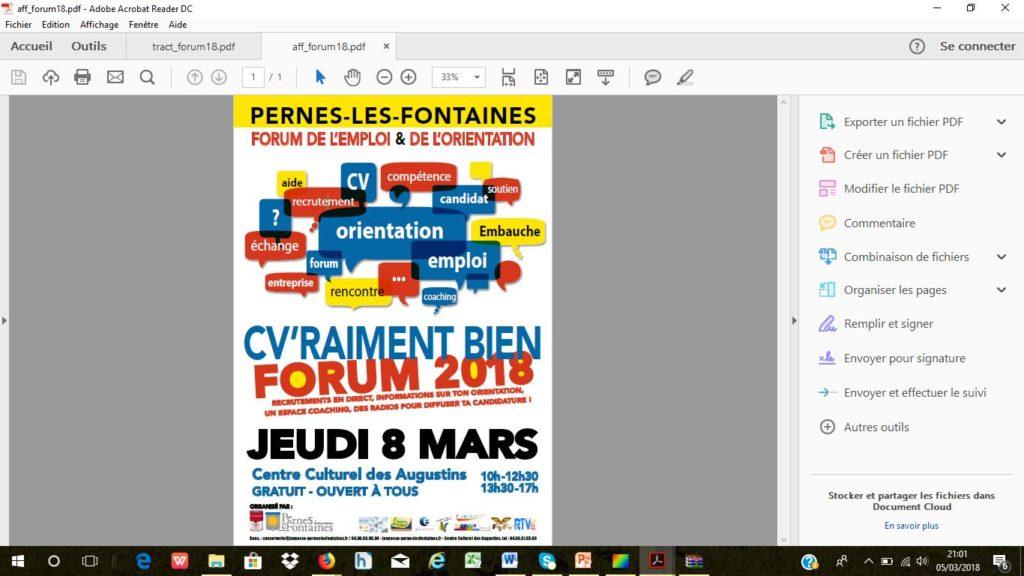forum Pernes les Fontaines